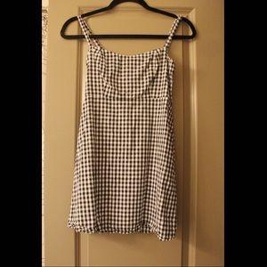 John Galt Gingham Mini Dress